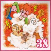 38 le mazzate smorfia